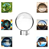 Neewer 80mm Transparente Bola de Cristal Globo con Libre Soporte De Cristal para Feng Shui/Adivinación O Decoración para Boda/Hogar/Oficina