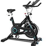 ANCHEER Bicicleta de Spinning Bicicleta Indoor de Volante de Inercia de 22kg Bicicletas deCiclo...
