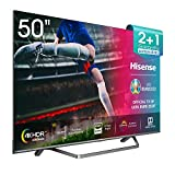 Hisense H50U7BE - Smart TV ULED 50' 4K Ultra HD con Alexa Integrada, Bluetooth, Dolby Vision HDR,...