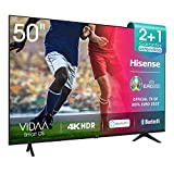 Hisense UHD TV 2020 50AE7000F - Smart TV Resolución 4K con Alexa integrada, Precision Colour,...