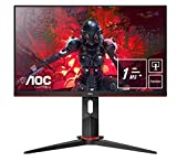AOC 24G2U5/BK Monitor - Pantalla para PC de 24' Full HD e-Sports (IPS, 1ms, AMD FreeSync, 75 Hz, Sin...