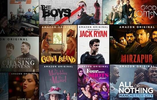 Amazon Prime Video Netflix