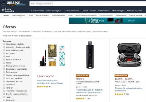 Amazon outlets online