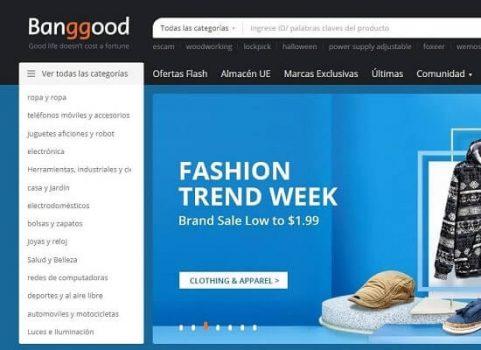 Banggood tienda online