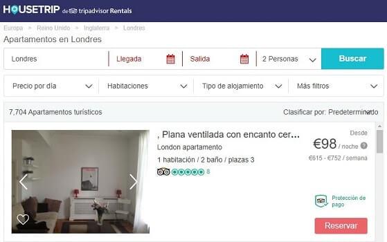 HouseTrip Airbnb