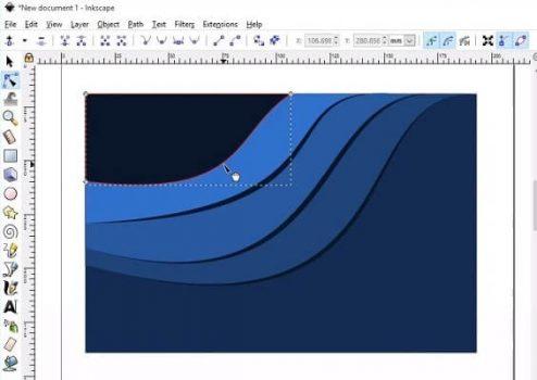 Inkscape gráficos vectoriales ilustraciones