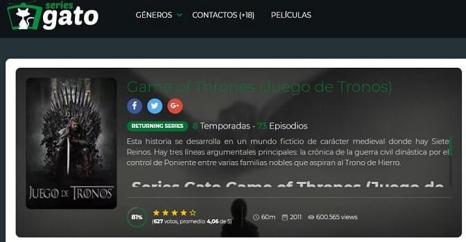 Series Gato DixMax