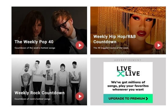 Slacker Spotify