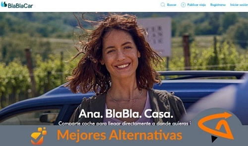 alternativas a blablacar