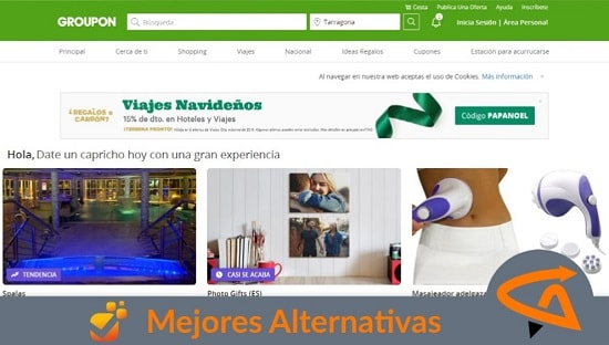 groupon alternativas