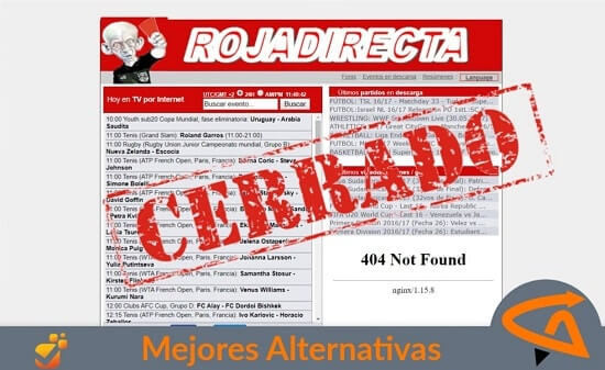 rojadirecta alternativas
