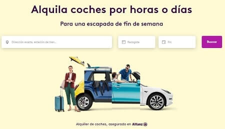 drivy compartir coche
