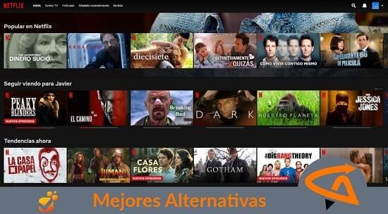 alternativas netflix