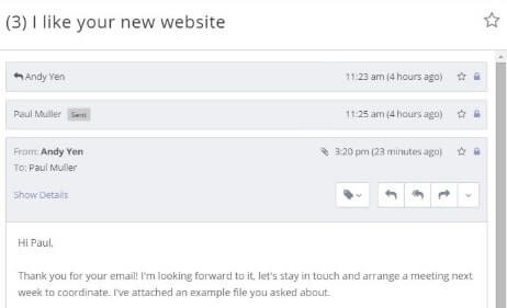 Proton Mail parecido a Gmail