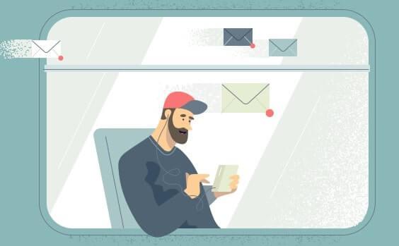 Yandex Mail parecido a Gmail