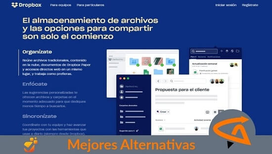 dropbox alternativas