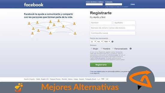 facebook alternativas