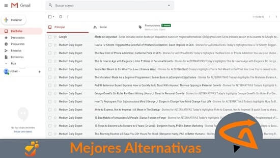 gmail alternativas