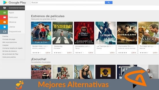 playstore alternativas