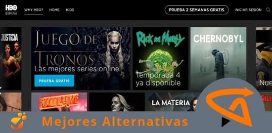 HBO Alternativas