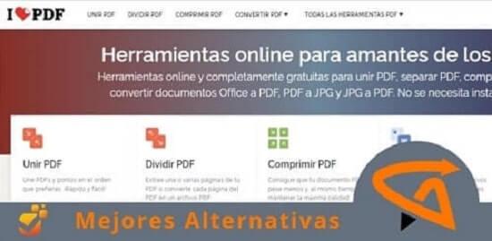 IlovePDF alternativas