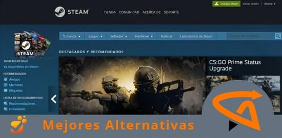 steam alternativas