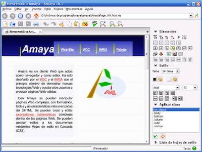 Amaya-web-editor