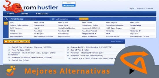 romhustler alternativas