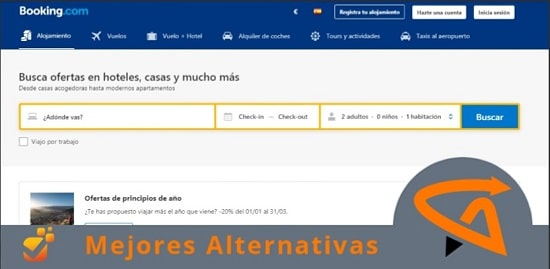 páginas similares a booking