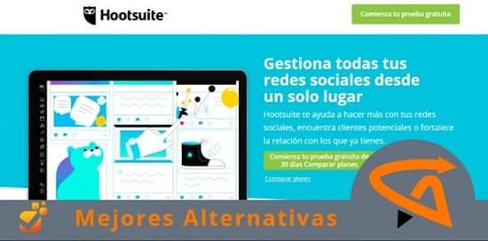 páginas similares a hootsuite