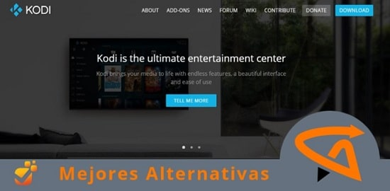 alternativas a kodi gratuitas