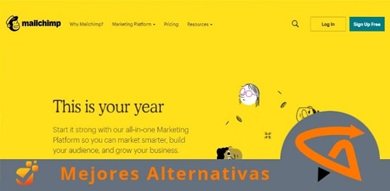 mailchimp alternativas