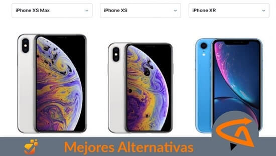 alternativas iphone xr, xs