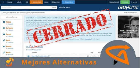 páginas de descarga de torrent tipo isohunt