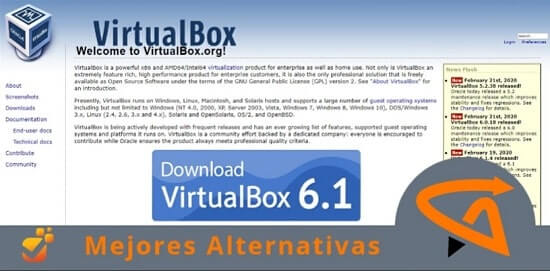 programas similares a virtualbox