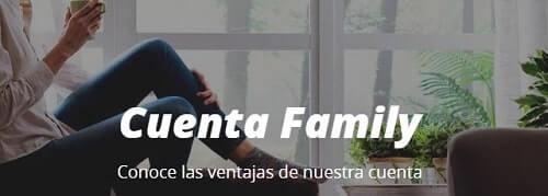 Cuenta Family de Caixabank