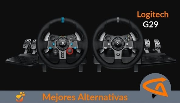 logitech g29 alternativas