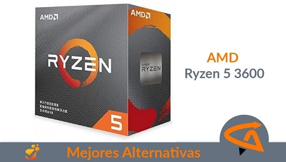 alternativas amd ryzen 5 3600