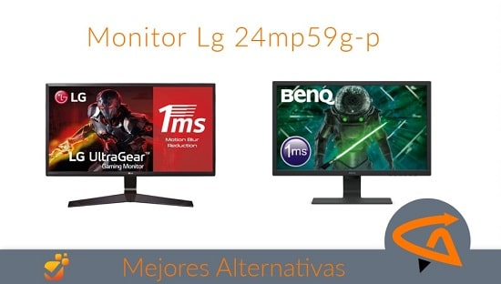 monitor lg 24mp59g-p alternativas