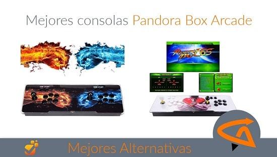 consolas pandora box arcade