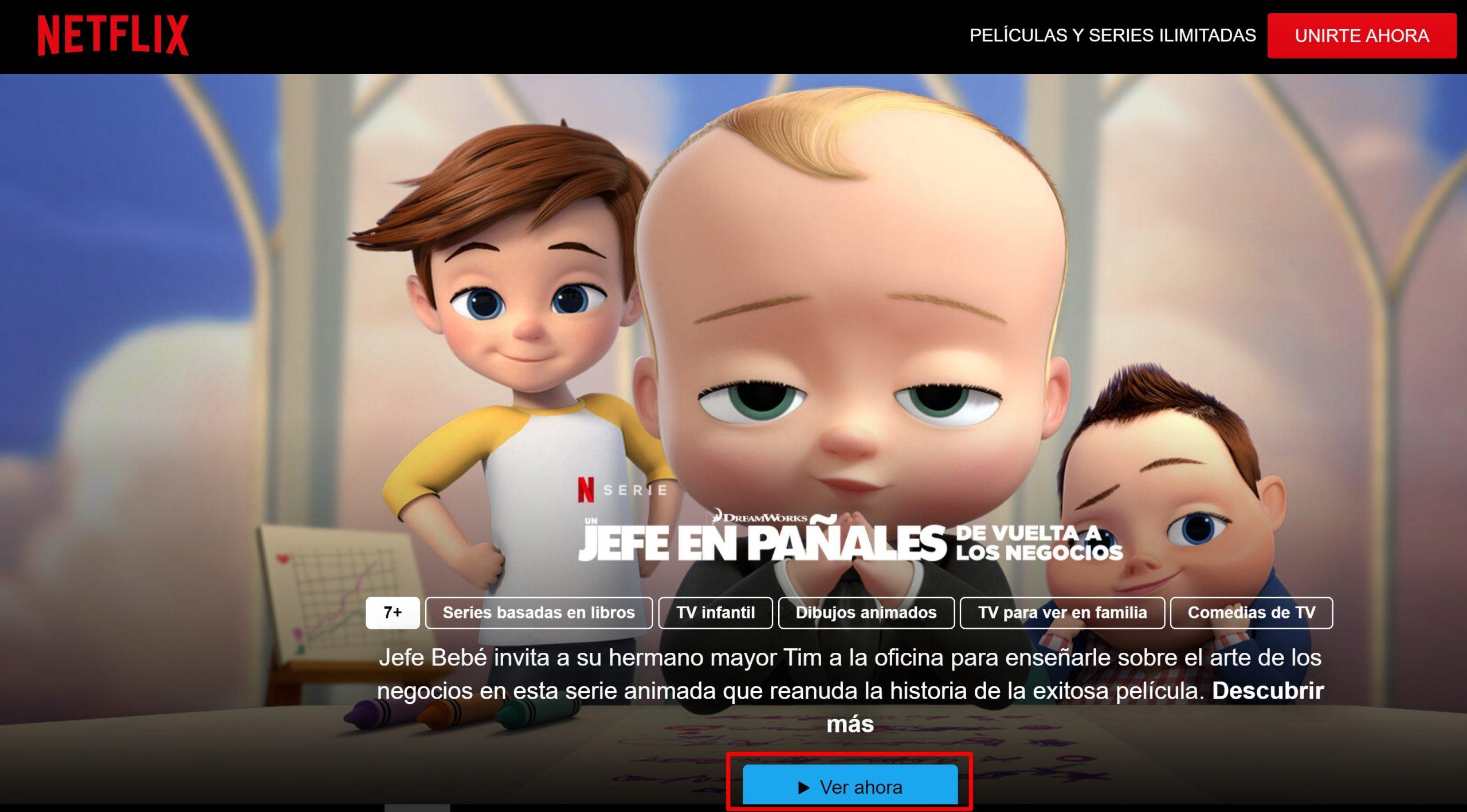 Cómo ver películas gratis en Netflix