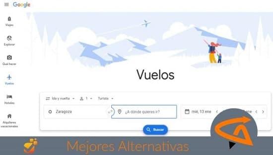 google flight alternativas