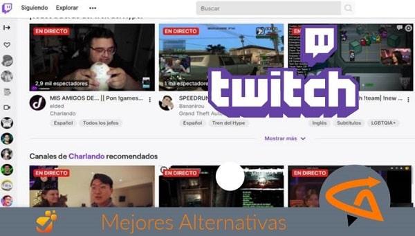 twitch alternativas